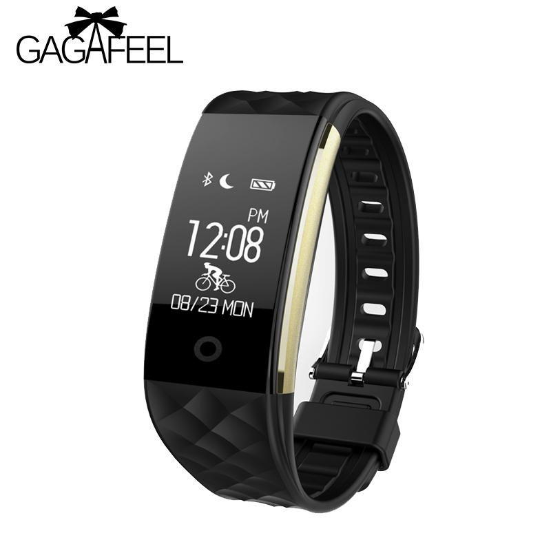 efd9f786 GAGAFEEL S2 Bluetooth Mens Womens Smart Watch for IOS Android Pedometer  Heart Rate Monitor IP67 Waterproof Fitness Sport watches S915