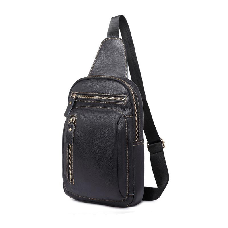 dd458aac8c Nibesser Men S Fashion Crossbody Bag Anti Theft Zipper Leather Mens Chest  Bags Men Shoulder Bags Chest Pack Sling Back Pack Womens Purses Evening Bags  From ...