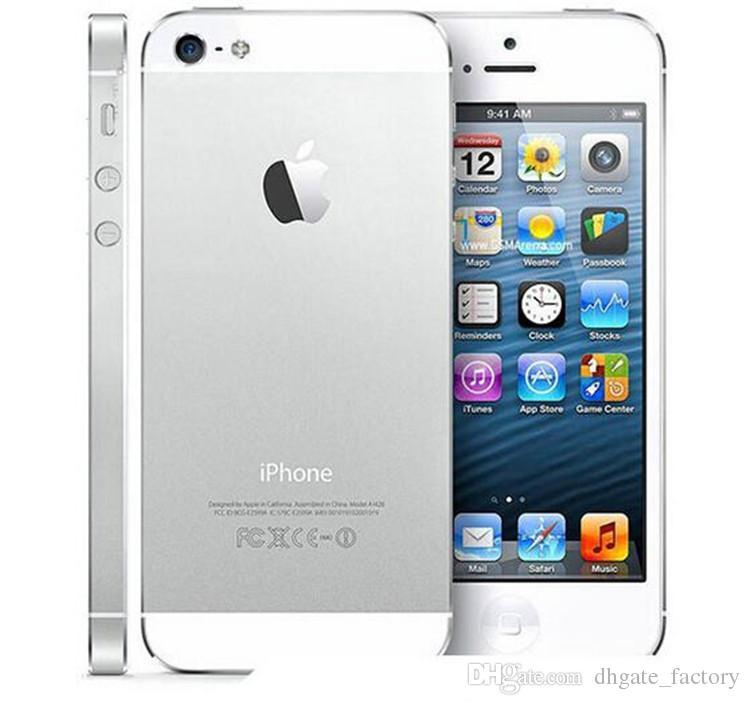 Refurbished Unlocked Phone Original Apple IPhone 5 A6 IOS 8.0 Dual Core 16GB/32GB/64GB 8MP ...