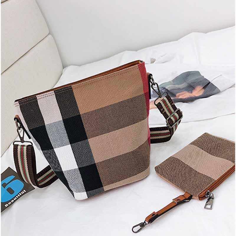 dbb6f71028dfc 2019 New Fashion Brand Women Drawstring Bag Handbags Womens Satchel Bags  Cross Body Shoulder Bags Ladies Tote Bag 2 Picecs From Lisabags, $36.66    DHgate.