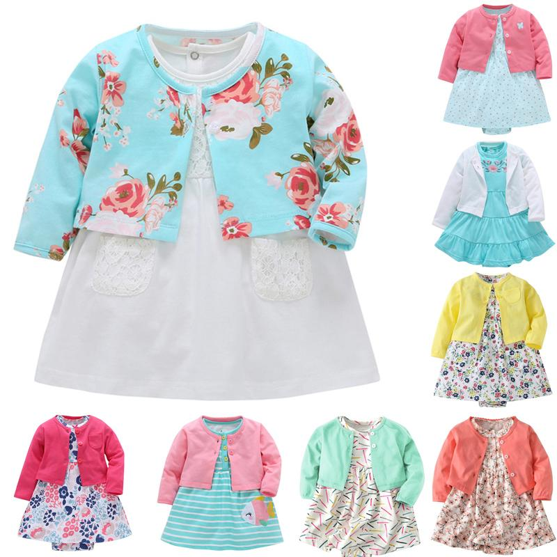 08a7ada15 2019 Carter Bebes Baby Girl Clothing Dress Set Long Sleeve Thin Outwear  Dress Rompers And Long Vest For Girl Set From Yohkoh, $22.02   DHgate.Com