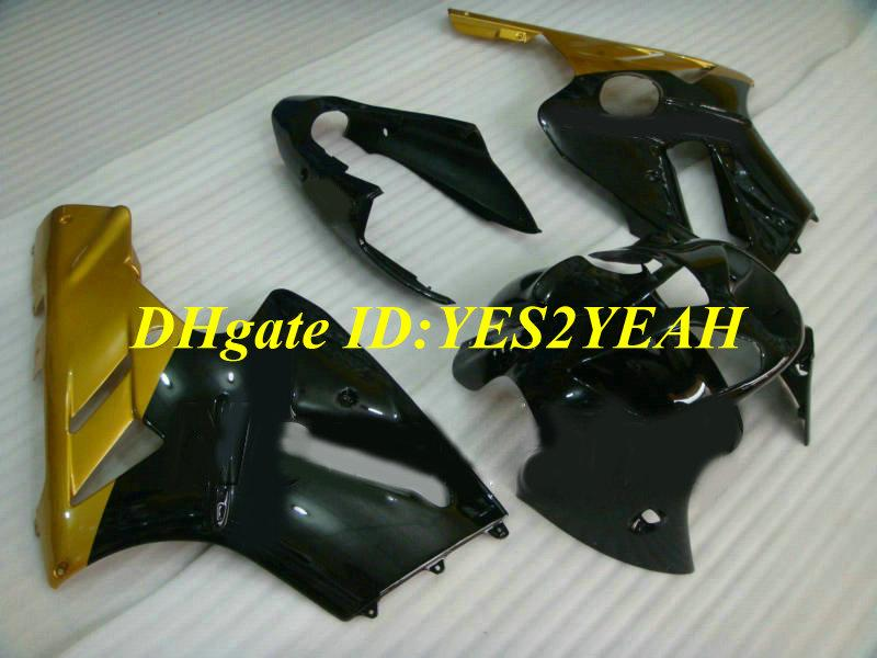 Injection mold Fairing kit for KAWASAKI Ninja ZX12R 02 03 04 05 ZX 12R 2002 2005 ABS Golden black Fairings set+ gifts KX07