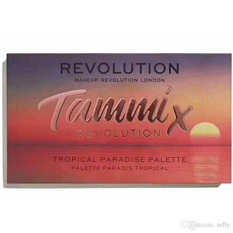 Brand New REVOLUTION Makeup Tammix Eye shadow palette 23 colors Matte & Shimmer Shadows Palette New in box DHL Free Eyes Cosmetics