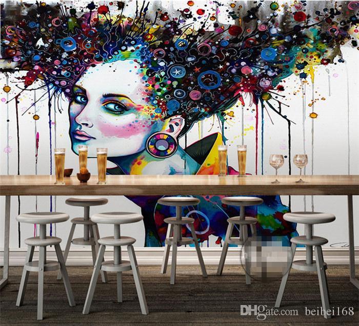 Acheter Fond Décran Abstrait 3d Relief Peintures Murales Tv Photo