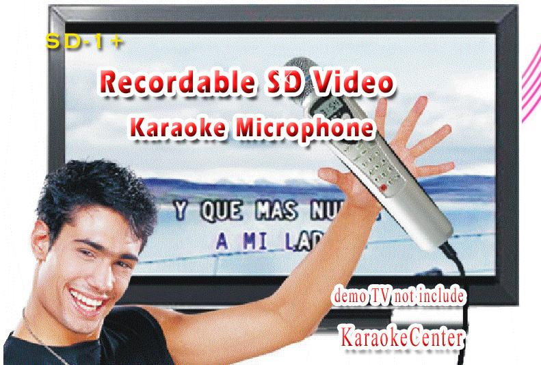 Home Karaoke Player Thai English Songs Magic Karaoke Sing Microphone  Machine, Play KTV/MTV/CDG,Portable Recordable