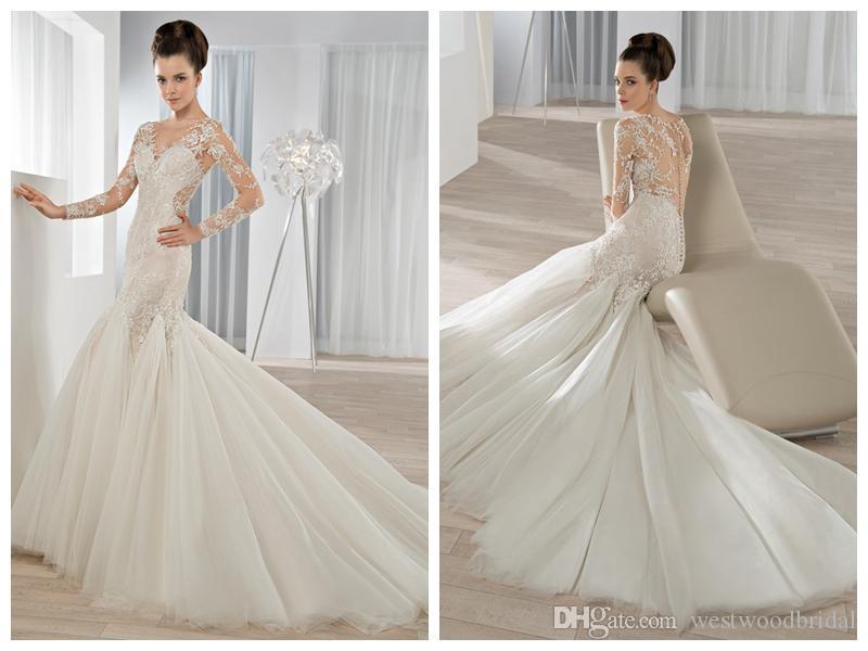 compre 2018 vestidos de novia robe de mariée demetrios 638 mermaid