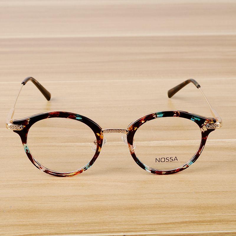 e5a7729fdc8 2018 Gafas Glasses Women s Fashion Flat Light Mirror Korean Version ...