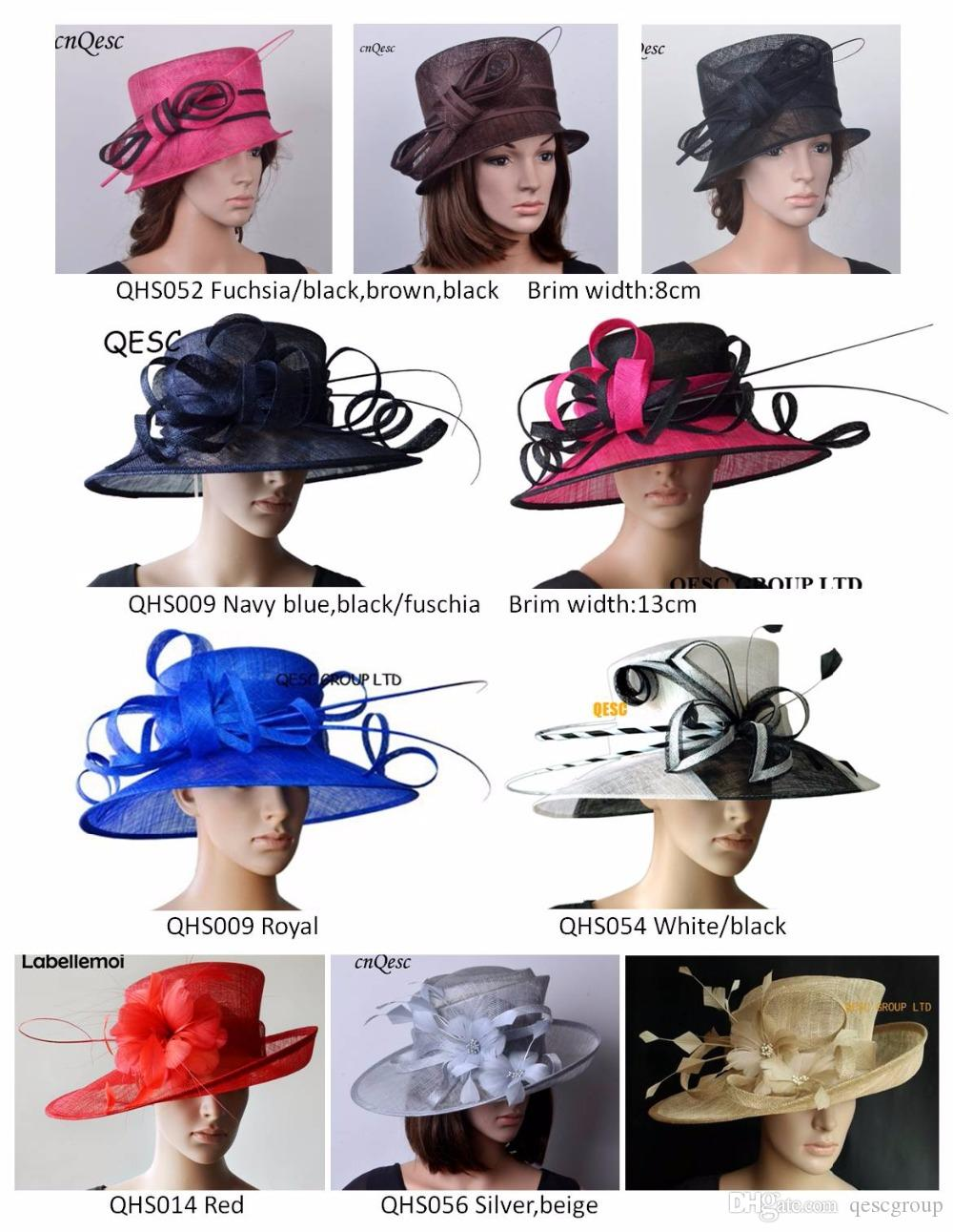 c4d7aa15fa5 New Sinamay Church Formal Dress Hat For Kentucky Derby