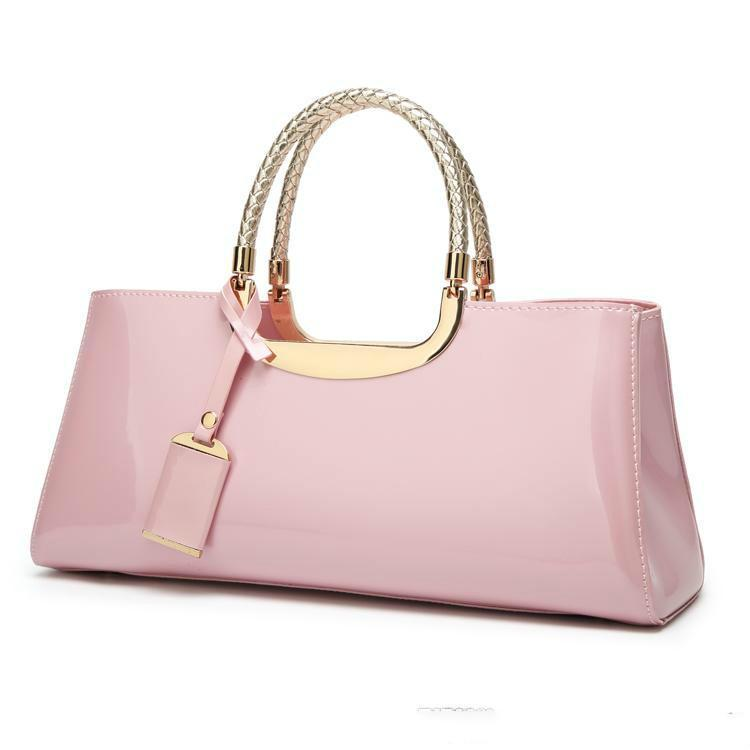 Wholesale New European And American Style Luxury Handbag Ladies  Lacquered  Handbag Designer Bridal Bag Famous Yuan Special Bag. Satchel Bags Ladies  Purse ... 56af8a730a347