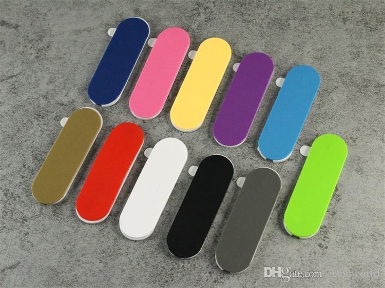 Support de téléphone cellulaire pas cher Universel multi-bande coloré en forme de U Grip doigt titulaire de la bague arrière multifonctionnel Pâte Retour fixe support