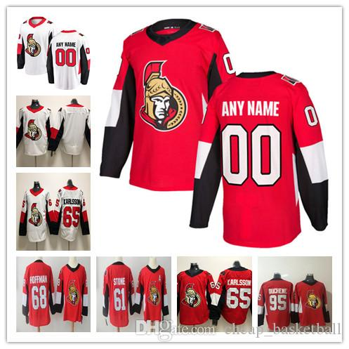 Custom Ottawa Senators ANY NAME  NO JERSEYS Men Women Kids 61 Mark ... 17580b702