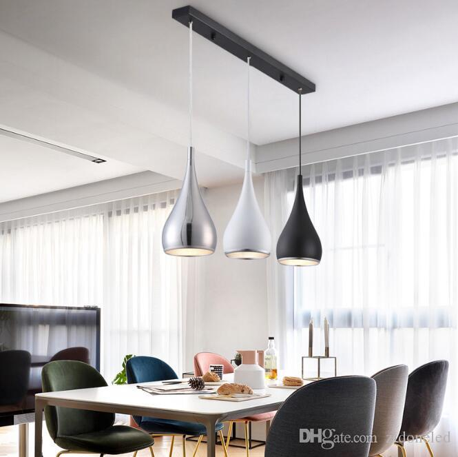 Moderne Restaurant Pendelleuchten Minimalistischen Led Hand Lampe Esszimmer Pendelleuchten Innen Dekoration Home Lighting Lamparas