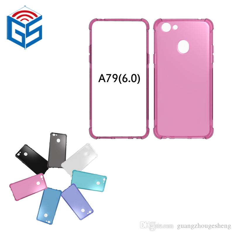 For Oppo R11 Plus / A79 / A83 A1 F5 Lite Shockproof Soft TPU Mobile Phone Cover Case 2018 New Arrival