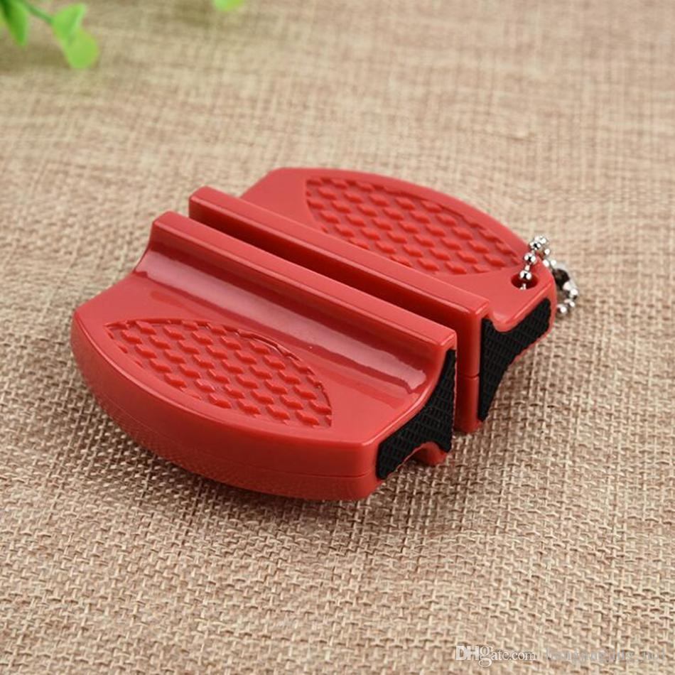 مصغرة السيراميك قضيب التنغستن الصلب كامب جيب المحمولة سكين المطبخ مبراة أداة سريعة شحذ الحجر 330 قطع OOA4403