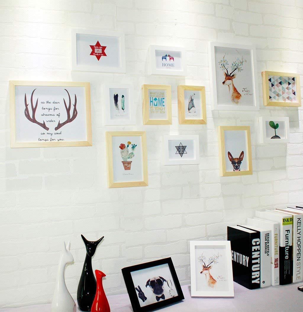 Großhandel 12 Stück Bilderrahmen Wall Gallery Kit Beinhaltet ...
