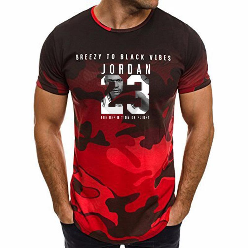 6623b52357c617 Summer Hot Sale New Tee 23 Print Men Camo Fitness Exercise T Shirt 23 Short Sleeve  T Shirt Men Tee Shirts Design T Shirts Buy Online From Insideseam