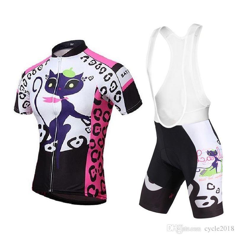 Triatlón Ciclismo Jersey Babero Pantalones Cortos Conjunto Bicicleta  Ciclismo Ropa Pro Equipo MTB Bicicleta Ropa Deportiva Al Aire Libre  Transpirable Secado ... 0d19bbc666239