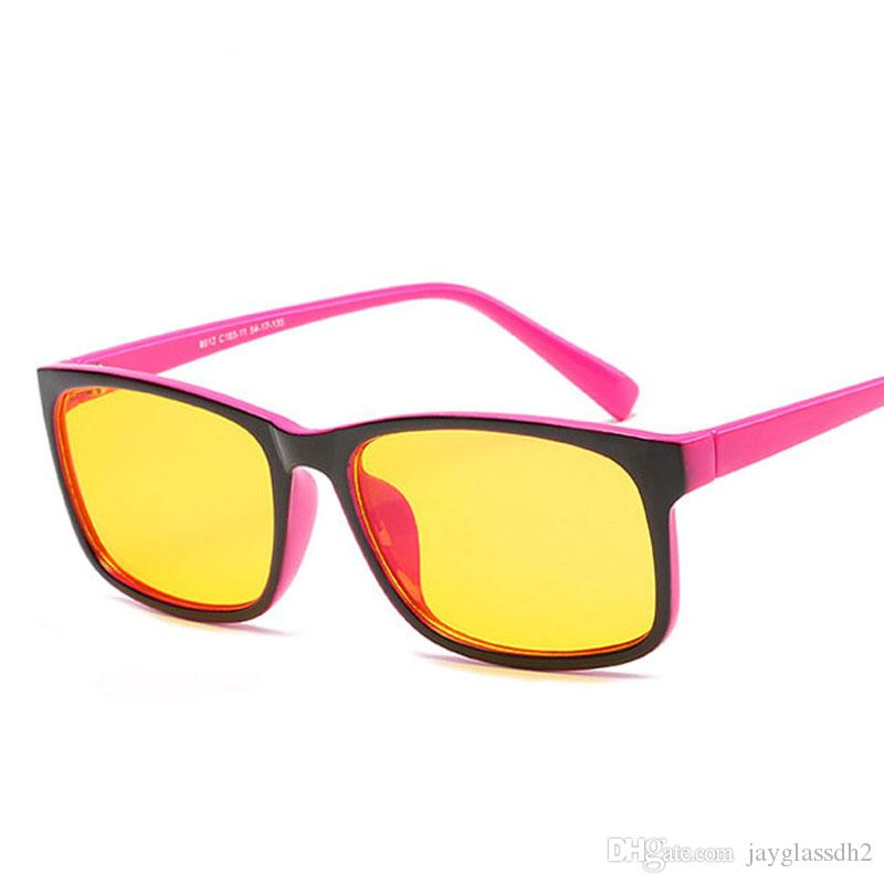 dd72f25a10a Brand Designer Spectacle Optical Glasses Frame Simple Anti Radiation  Computer Glasses Glasses Frames For Women Oculos De Grau Sun Glasses Eyewear  From ...