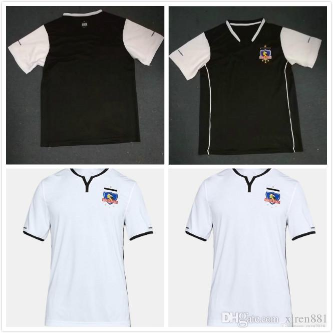 the best attitude f48ca f0e65 Top level Colo-Colo Soccer Jersey 2018 Chile Club Home White Soccer Jersey  New Colo Colo Football Shirts Thai Quality Jeresys Football shirt