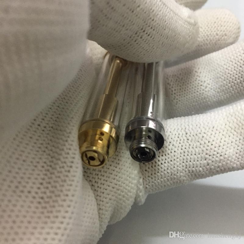 H10 92a3 Gold-Behälter Pyrex Glaspatrone CE3 Atomizer Vaporizer Pen-Patronen Dual-Baumwolle Spulen 92a3 für dickes Öl Fit Touch Akku