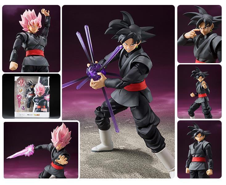 6/'/' Gokou Saiyan Rose Dragonball Z S.H.Figuarts Goku Black Super Action Figure