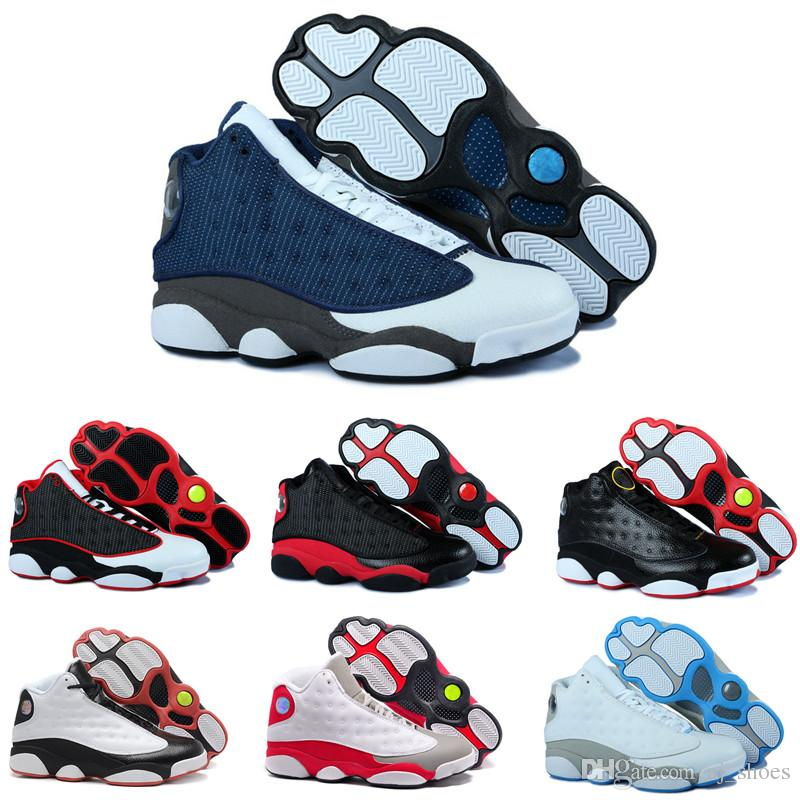73755e67f03e 2019 High Quality 13s Bred Chicago Flints Men Women Basketball Shoes 13s  DMP Grey Toe History Of Flight Hyper Royal Sneakers With Box From Aj shoes