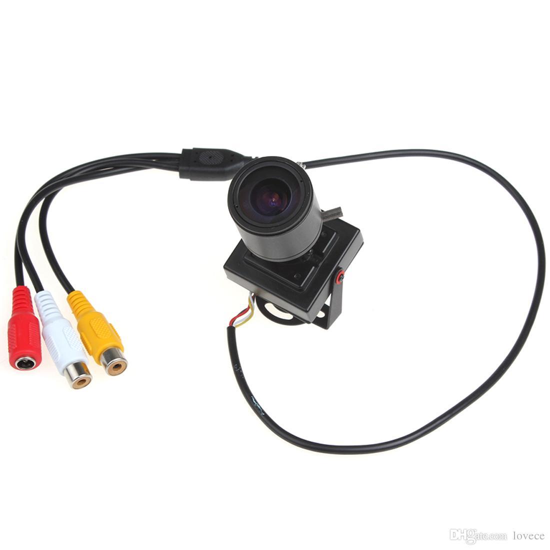 2.8-12 mm 수동 렌즈 소형 HD 700TVL 1/3 CMOS 안전 오디오 영상 색깔 CCTV 사진기 CCT_535