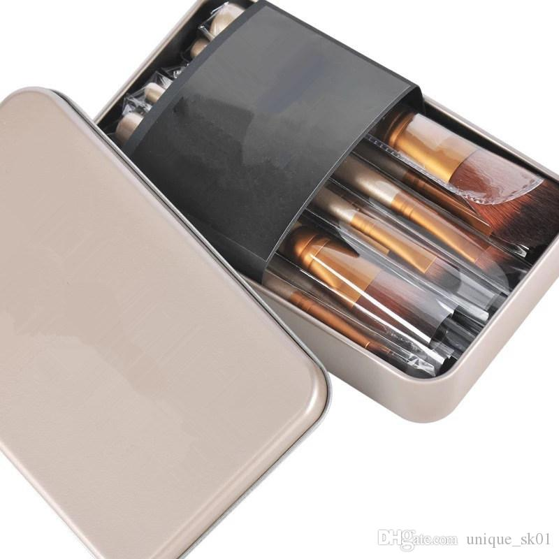 Vente chaude maquillage / set brosse NUDE 3 Kit de pinceaux de maquillage Ensembles pour fard à paupières fard à joues Cosmetic Brushes TooL DHL Livraison gratuite