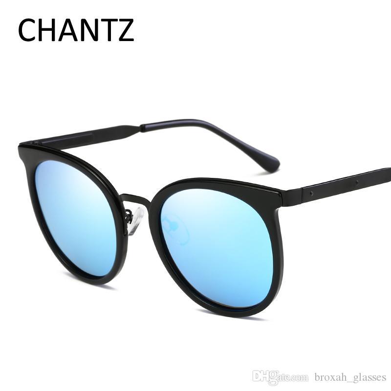 4338b4409 Compre Designer De Marca Do Vintage Óculos De Sol Polarizados Mulheres  Redondos Retro Óculos De Sol Armação De Metal Óculos Para Homens Gafas De  Sol 8675 De ...