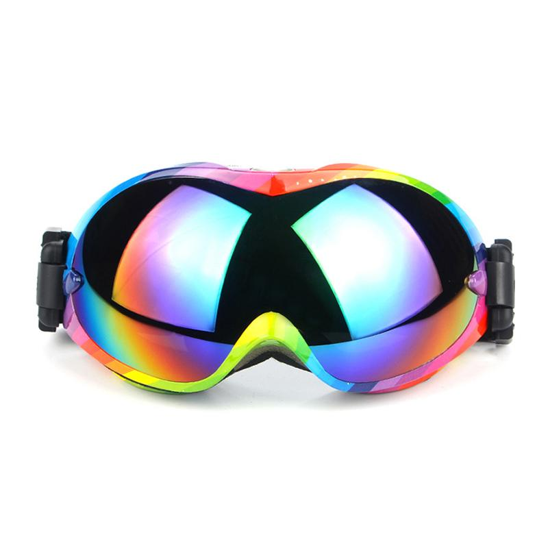 107101f61933 Ski Goggles Lens UV400 Anti-fog Big Mask Glasses Skiing Eyewear Men ...