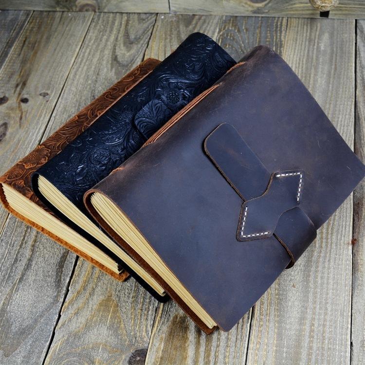Notebooks 2019 Myline Stil Notebook Jotter College Büro Schreibwaren Einfachen Notizblock Verdickung Kleine Frische Tagebuch Retro A5
