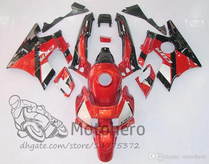 Motocycle fairings Red Black for HONDA CBR600 F2 91 92 93 94 R3r213 CBR600F2 1991 1992 1993 1994 CBR 600 custom fairings set
