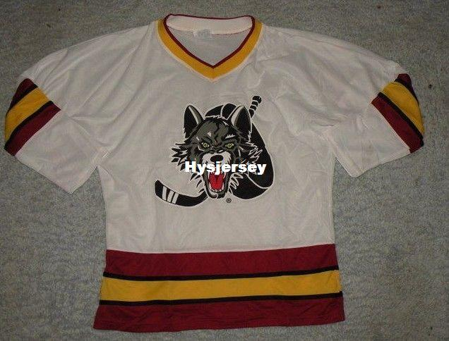 2019 New Cheap Custom Vtg CHICAGO WOLVES Jerseys Stitched Men S Hockey  Jersey From Hysjersey 58f291ee39f