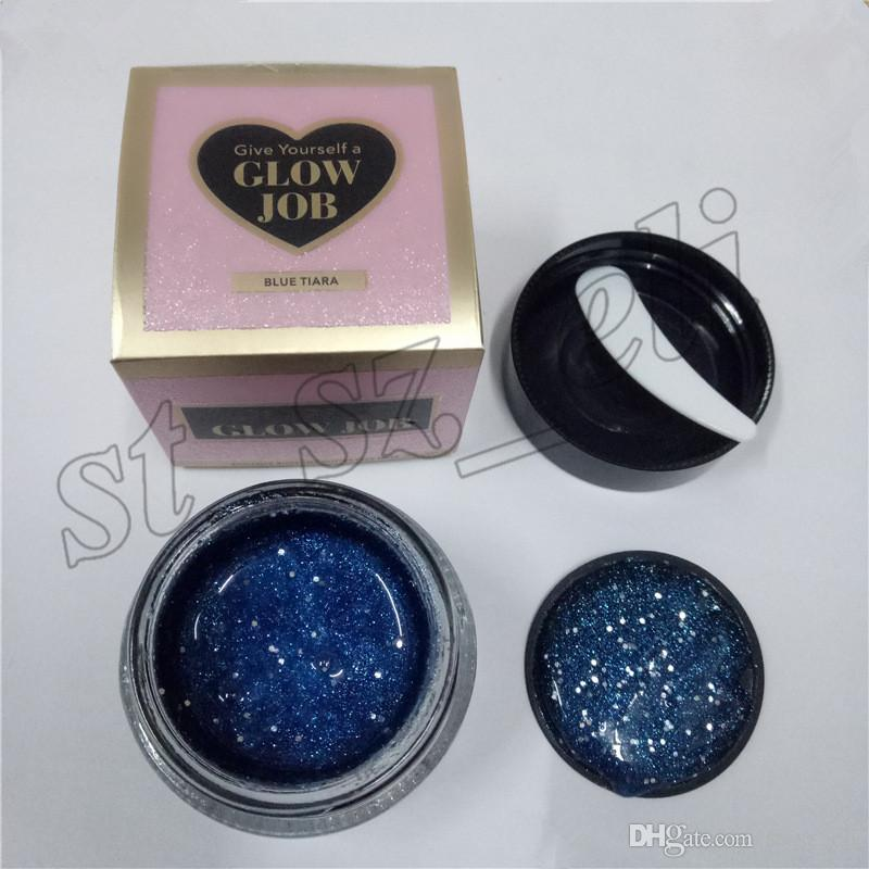 New Arrival GLOW JOB Radiance Boosting give yourself a glow job mask Glitter face mask soft facial mask