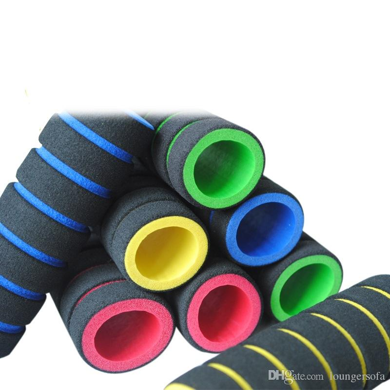 Sponge Handle Non Slip Bike Racing Bicycle Motorcycle Bar Foam Grip Cover Mix Colour Waterproof Anticorrosion Durable 0 7tb V