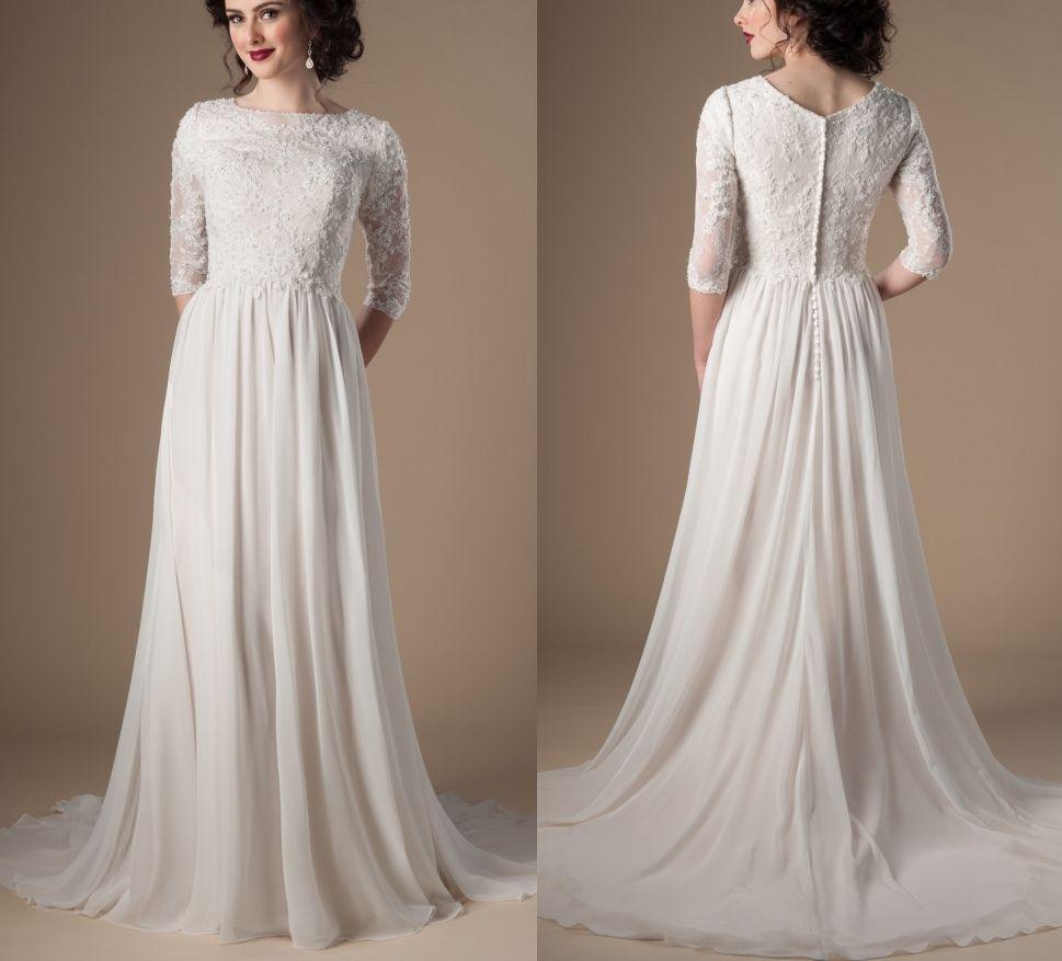 c0e0ba4bac0a Lds Modest Evening Dresses