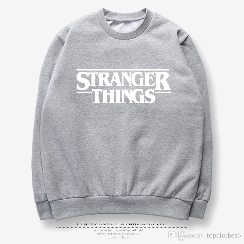 Großhandel Stranger Things Hawkins Middle School Langarm Combo