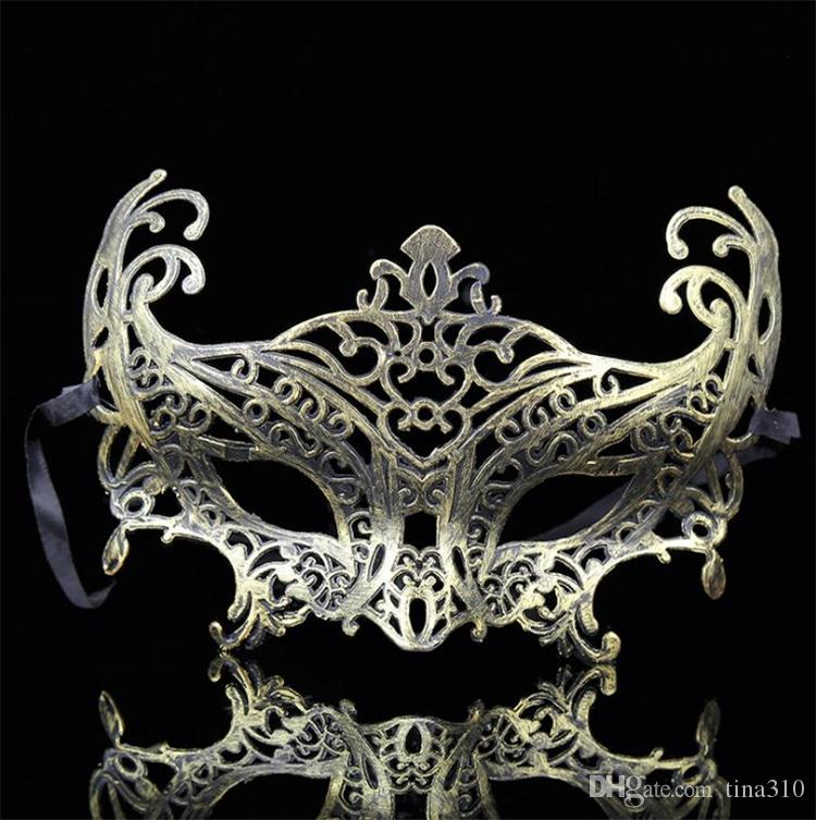 Nuova vendita calda personalità creativa plastica maschera adulti festa party maschere maschili e femminili antiche T4H0248