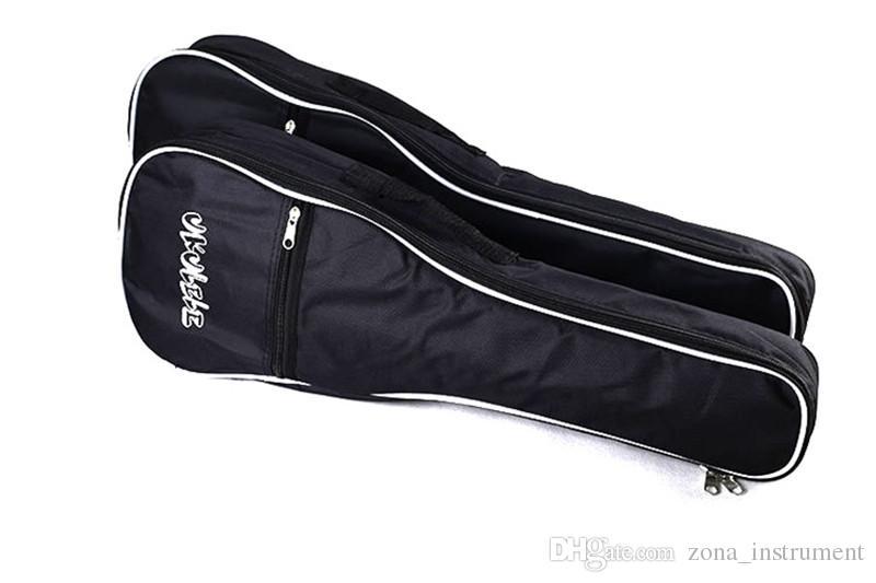 ZONAEL 21 23 26 дюймов один ремешок ручной Народный холст укулеле сумка хлопок мягкий чехол для укулеле гитарные партии аксессуары