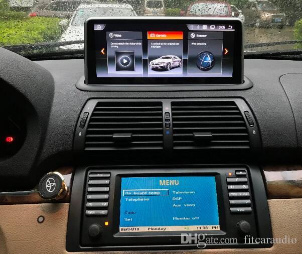 10 25 Android 4 4 Car monitor for BMW E53 X5 1999 2000 2001 2002 2003 2004  2005 Stereo Radio Vedio Audio GPS Navi Media Headunit