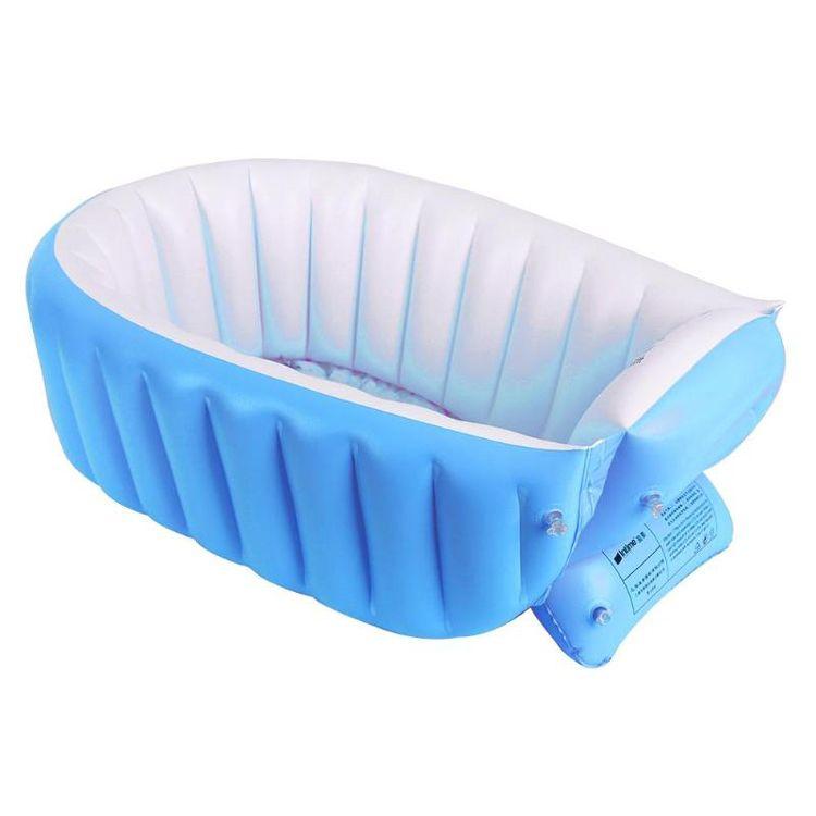 New Portable Inflatable Baby Bath Kids Bathtub Thickening Folding Children Washbowl Children Tub Baby Swimming Pool