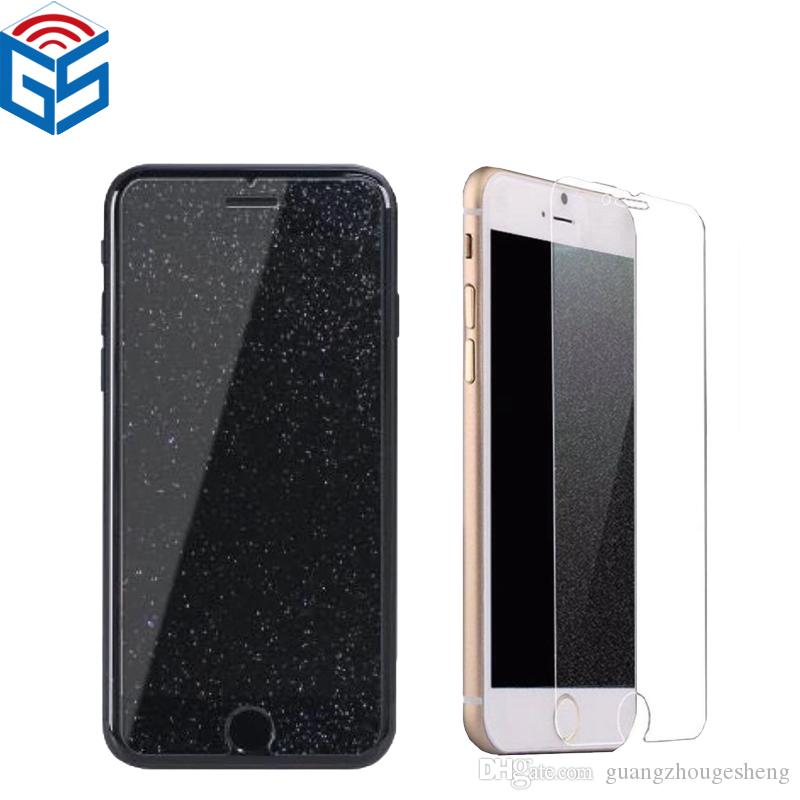 sports shoes 6fb55 19a77 2.5D Diamond Glitter Tempered Glass Screen Protector For Iphone XS Max XR  For Iphone x 7 7Plus 8 8Plus