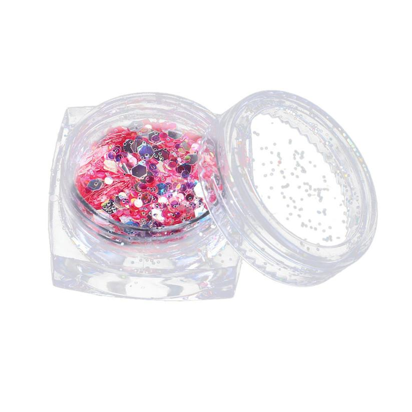 OutTop Nail Glitter Chunky Mixed Glitter for Face Body Nails EyeShadow Festivals Tattoo Cosmetic td0906 dropship