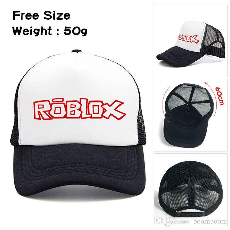 Juego ajustable Roblox Cap Kids Baby Girl Boy Verano Sol Sombreros Gorras Béisbol de dibujos animados Snapback Sombreros Regalo de la fiesta de cumpleaños de los niños