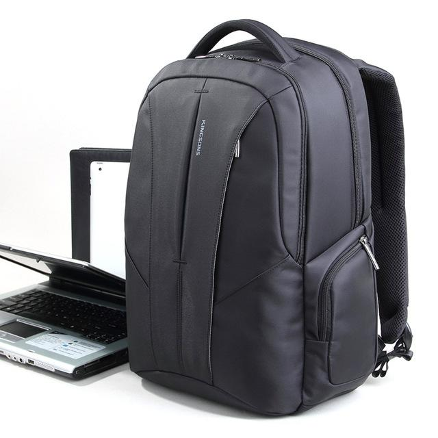 f04add4a63cb Kingsons Brand 15.6 Inch Men Laptop Backpack Travel Backpacks Multifunction Rucksack  Large Capacity Anti-theft Waterproof Moch Men Backpack Online with ...