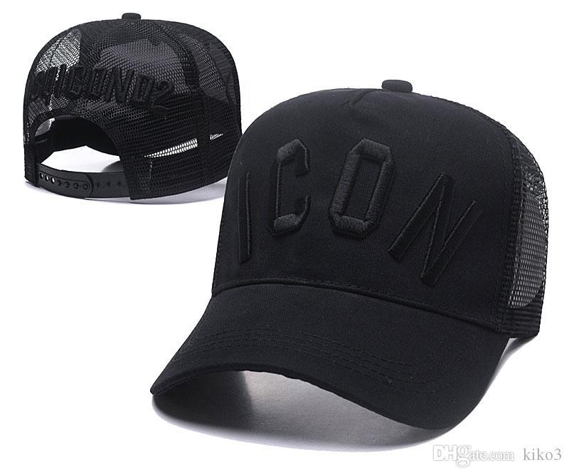 Compre NUEVA CALIENTE 2018 Moda es ICON Gorras Sombreros Letras De Bordado  Snapback Gorra De Béisbol Deporte Hip Hop Marca De Lujo Cap Para Hombres  Mujeres ... 0bbc19997c0