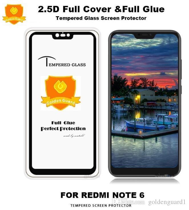 Protection Ecran Tablette Pour Xiaomi Redmi Note 6 5 4 9h Full Colle