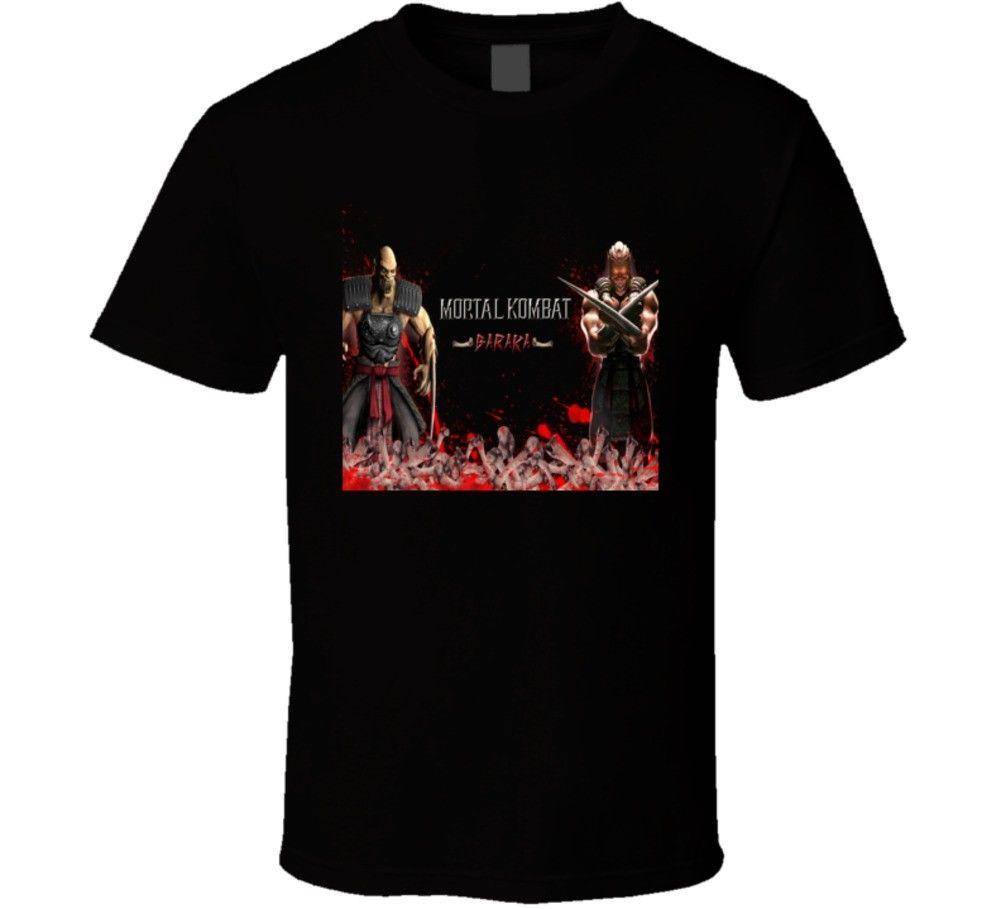 Baraka Mortal Kombat 9 Video Game T Shirt Cool Casual pride t shirt men Unisex New Fashion tshirt Loose Size top ajax 2018 funny t