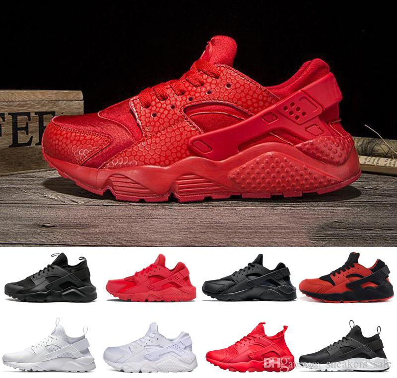 68c02bf53894f ... low cost nike air huarache shoes diseñador huarache 1.0 4.0 hombres  mujeres zapatillas triple negro blanco