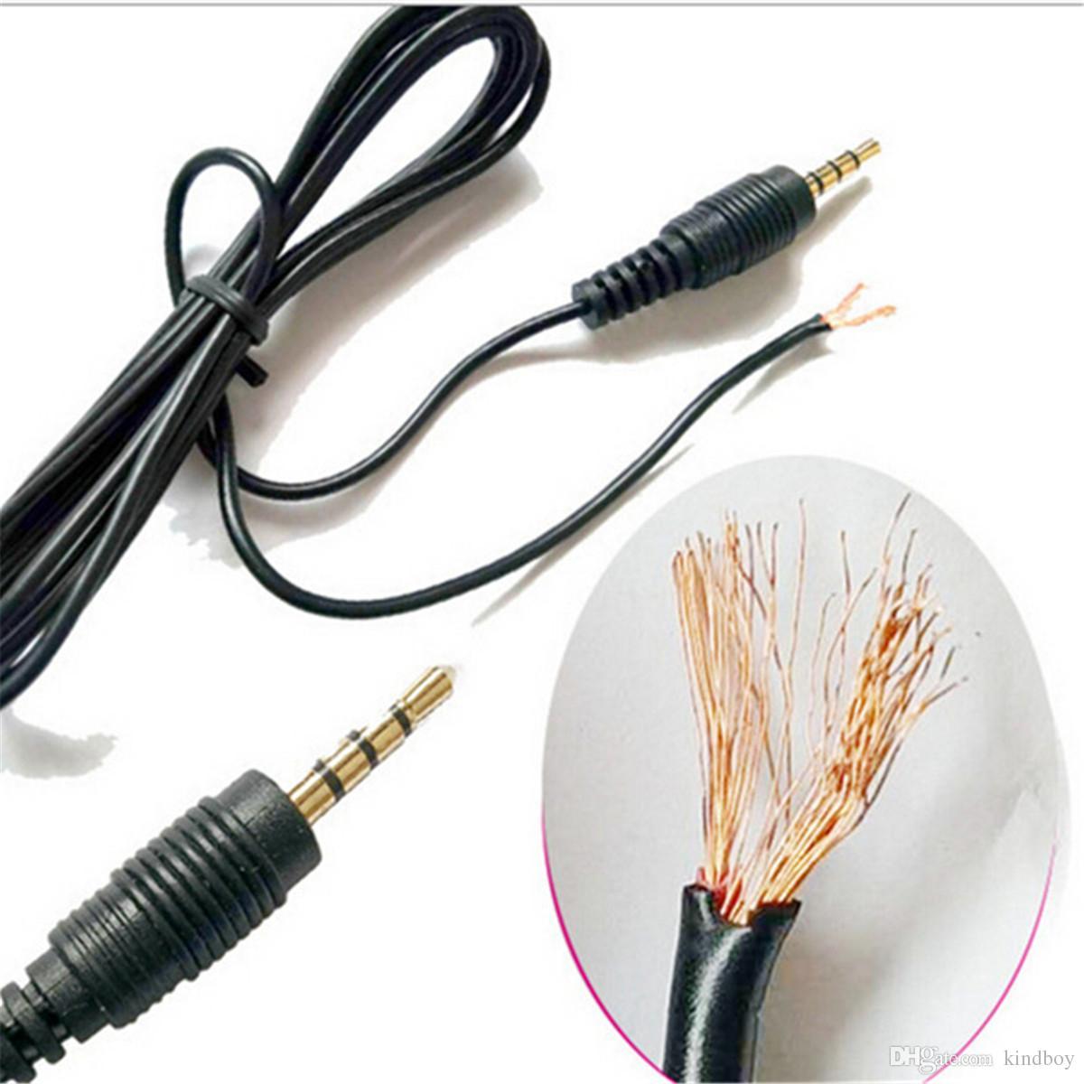 Portable Mini Clip-on Revers Lavalier Mikrofon 3,5 mm Klinke Freisprecheinrichtung Mini Wired Kondensatormikrofon für iPhone Samsung Smartphone